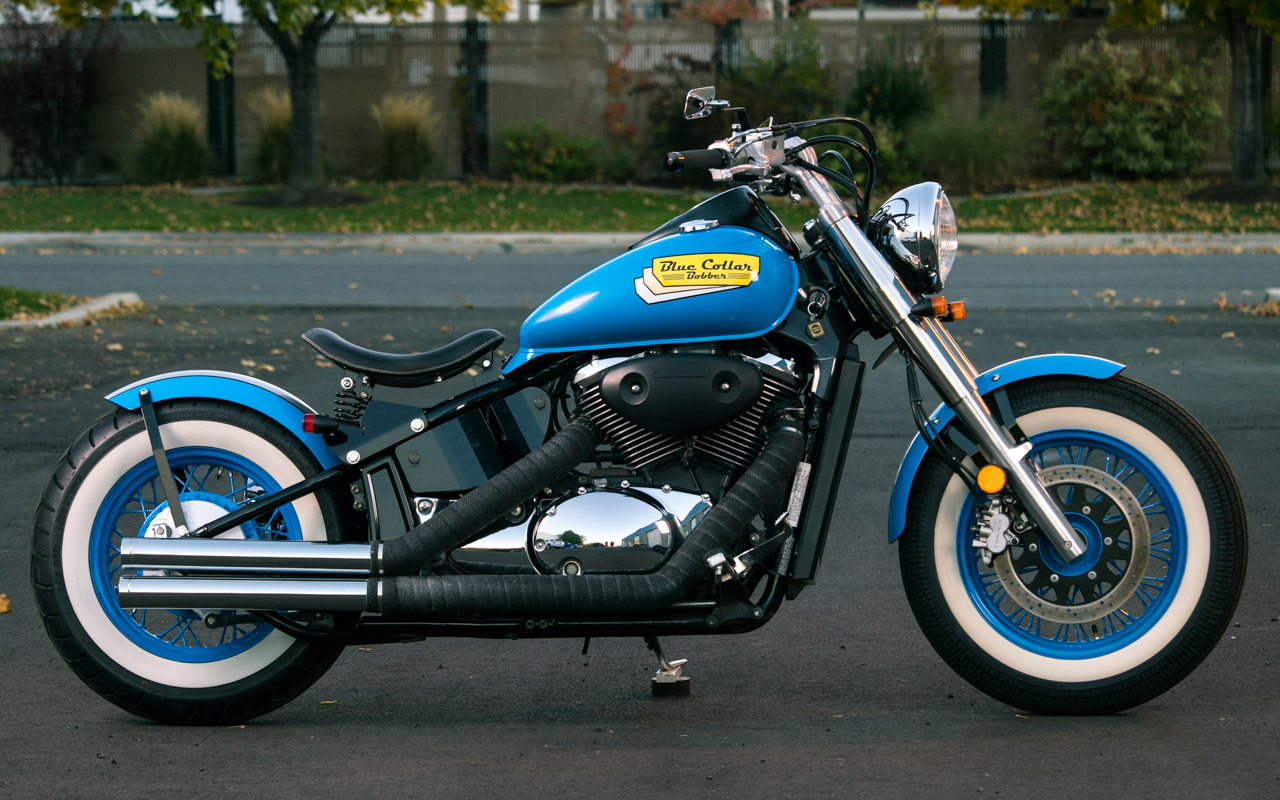 Suzuki Kits - Blue Collar Bobbers
